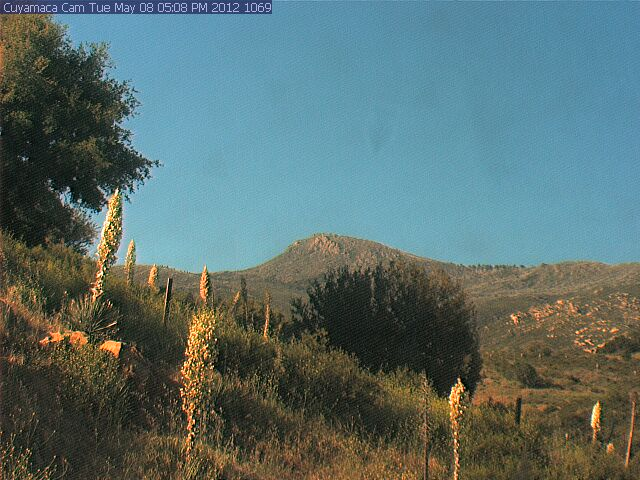 Cuyamaca Peak Webcam