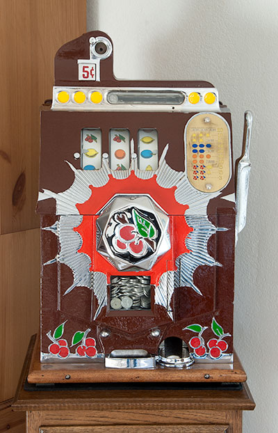 Antique slot machine repair los angeles